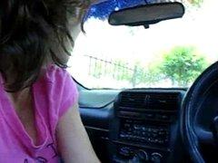 hooker in a car