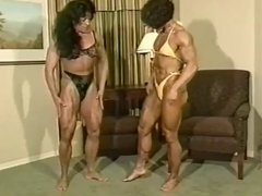 Christa Bauch & Robin Parker Female Bodybuilders