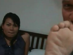 Hot and spicy Thai soles and toes