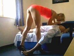 blonde qui baise