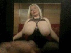 Big boobs mistress cum tribute