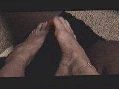 Long Teasing Toes