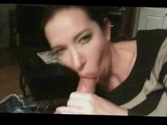 Milf Blowjob Cock And Cum Swalow