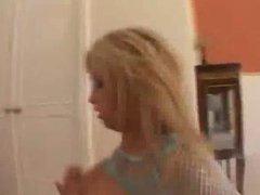 Brooke Haven's Face gets a huge wet Load