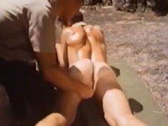 Vintage bareback fucking outdoors