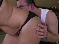 Amateur mom fucked by her son's best friend