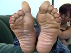 sweet ebony feet