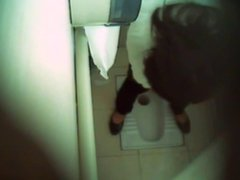 Desi Indian Toilet Hidden Cam In Air Port