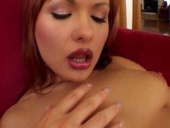 Katja Kassin hairy hard interracial anal