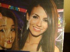 Ariana Grande and Victoria Justice tribute