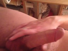 Handjob and cum