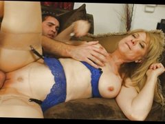 Nina Hartley and Young Guy Fucks Really Hard