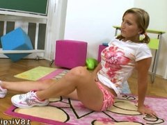 Kira is a young and sexy virgin who has dreamed about sex