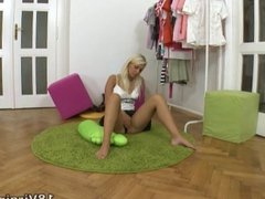 Terry is a young and sexy blonde virgin who has never had