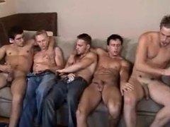 5 Man Circle Jerk