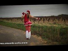 Dirty Girl Christmas likes Big cock.