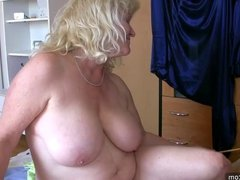 OldNanny Mature and old Granny and their boyfriend threesome