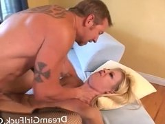 Hot Blonde Leah Luv Want It Deep In Her Ass