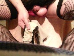 Panty Prostate Dildo Milking pt. 2 of 2