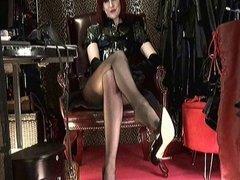 Shoeplay & Dangling High Heels with Mistress Vivian