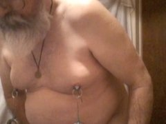 whore-slave1 nipple stetching part 2