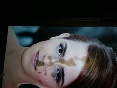 Emma Watson Slow motion Cum tribute no.2