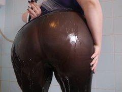 Big Ass Wet Spandex 3