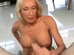 After such a good handjob and blowjob she makes him cum
