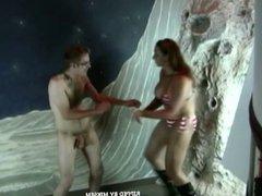 Jerky Girls Amazonia Handjob