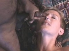 amateur milf likes cum from black cock