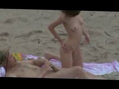 Spying couples on the beach-xvideoshot.me