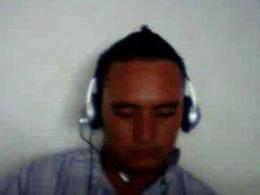 Straight guys feet on webcam #562