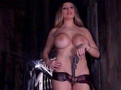 Anastasia Sweet topless solo