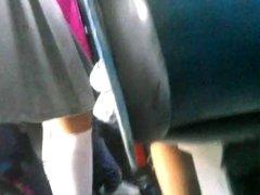 mama en el bus