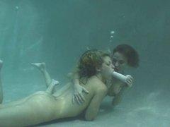 Underwater Dildo Lesbians