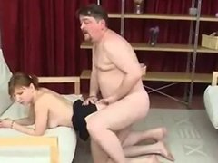Old guy have sex with young girl - Part 2