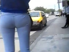 beautiful buttocks at the stop for all