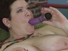 Lovely mature aunty with amazing big boobs