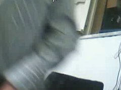Straight guys feet on webcam #585