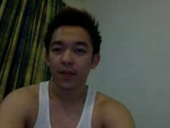Straight guys feet on webcam #583