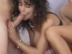 Sarah Young anal threesome
