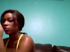 Black Girl Juicy toying 321