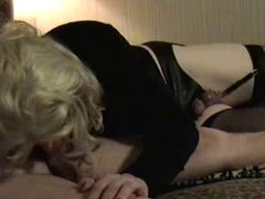 Amateur CD Loves To Suck Cock