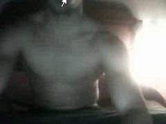 Straight guys feet on webcam #589