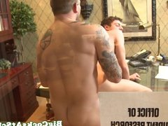 Twink schoolboy Hunter Page nailed with big dick