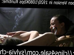 REAL ART-CHRYSTALL'S FETISH SYLVIA DOM SMOKER KINGDOM.