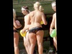 Humiliating naked dance 18 yo teen whore butt jiggle bbw