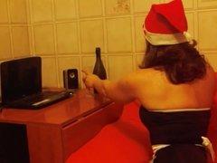 mi zia vi augura buone festeee