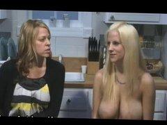 Haley Cummings topless talk