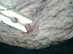 GUY LOVING PAIN ON MY BALLS, COCK & NIPPLES!